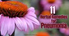 11 Herbal remedies for pneumonia symptoms