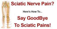 How to get rid of sciatic nerve pain at home
