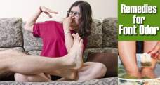 Top 15 home remedies for foot odor