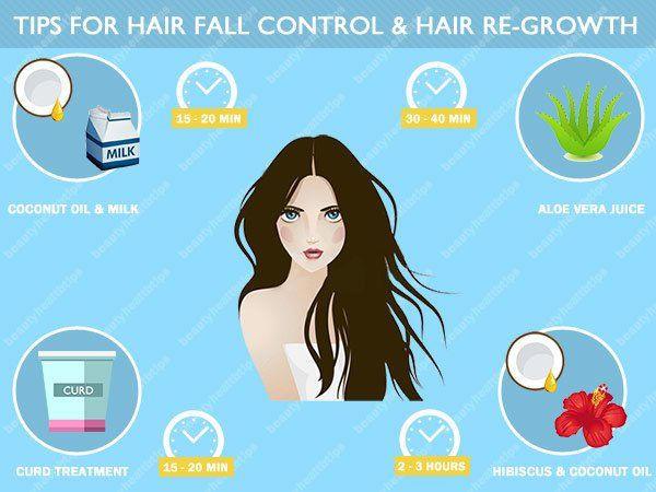 Amazing tips for hair fall control and hair re-growth