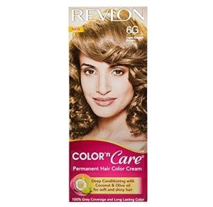 Revlon color N care permanent hair color cream, light golden brown 6 G
