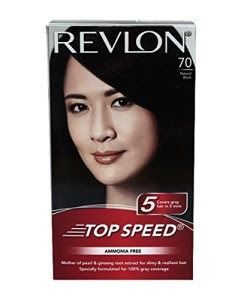 Revlon Top speed hair color Woman, natural black
