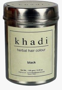 Khadi herbal hair color Black