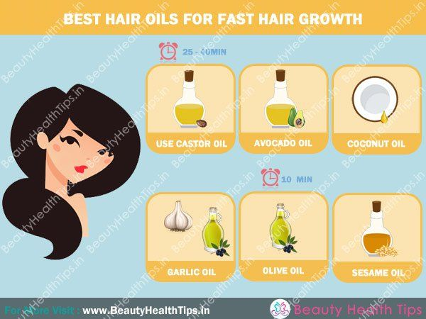 Best hair oils for fast hair growth