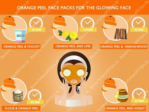 Best homemade orange peel face packs for the glowing face