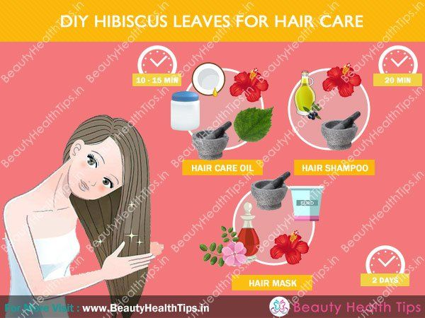 Diy hibiscus leaves for hair care
