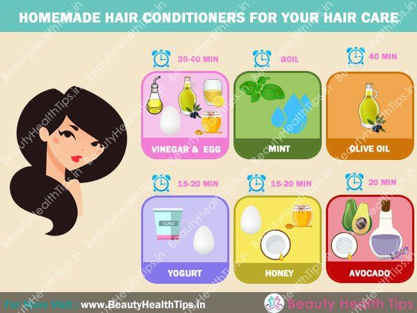Homemade hair conditioners for your hair care