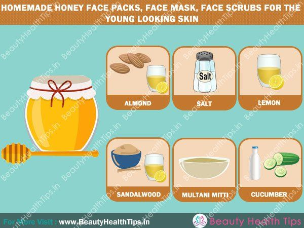 Homemade-honey-face-packs,-face-mask,-face-scrubs-for-the-young-looking-skin