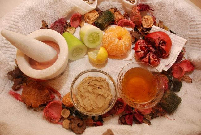 Homemade natural beauty products and recipes