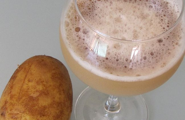 How potato juice is used for health care and beauty care