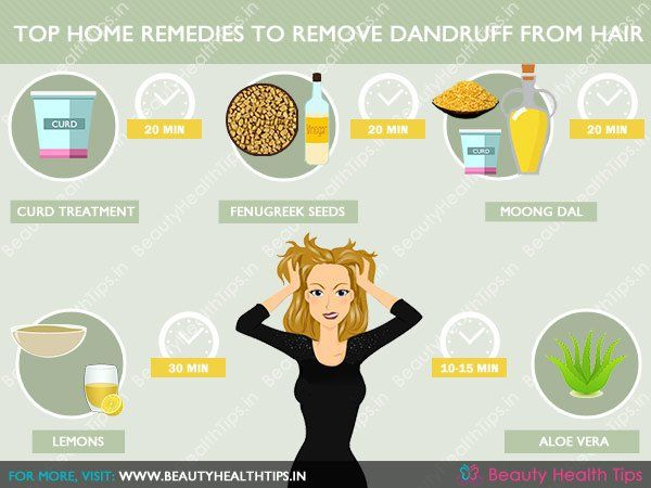 How to remove dandruff fast - quick home remedies for dandruff