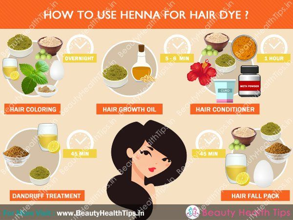 How to use henna for hair dye?