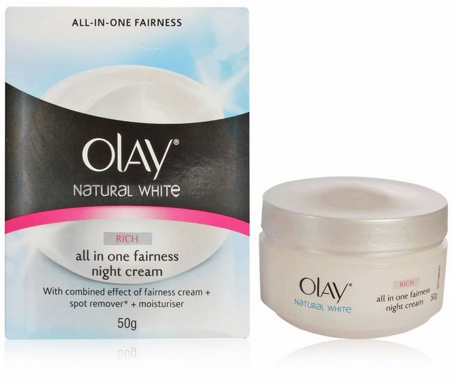 Olay Natural White Fairness Night Cream