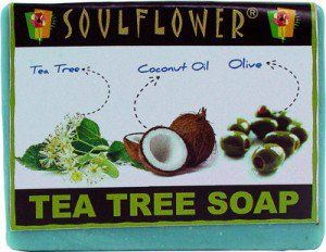 Soulflower tea tree soap