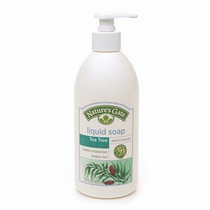 Nature's Gate Organics Liquid Soap Tea Tree and Blue Cypress - 12 Fl Oz