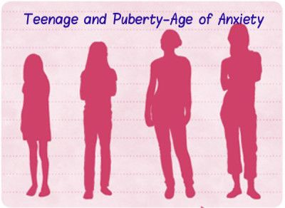 Teenage and Puberty-Age of Anxiety
