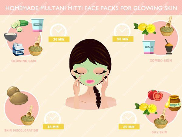 Homemade-multani-mitti-face-packs-for-glowing-skin
