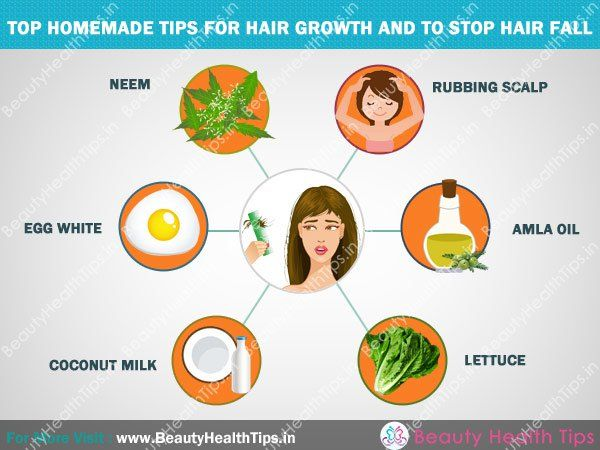Top homemade tips for hair growth and to stop hair fall