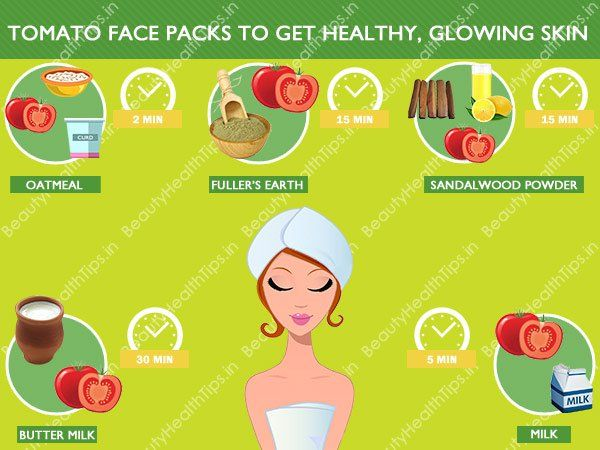 Top tomato face packs to get healthy, glowing skin