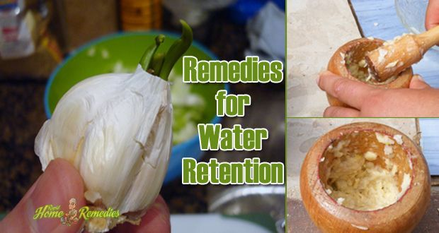 Natural home remedies for water retention