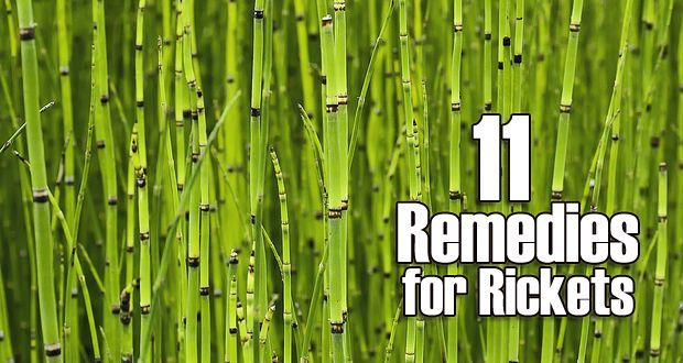 Top 11 home remedies for rickets